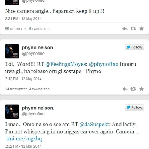 Phyno Reacts To ThatGayPhoto Of Him And KCee