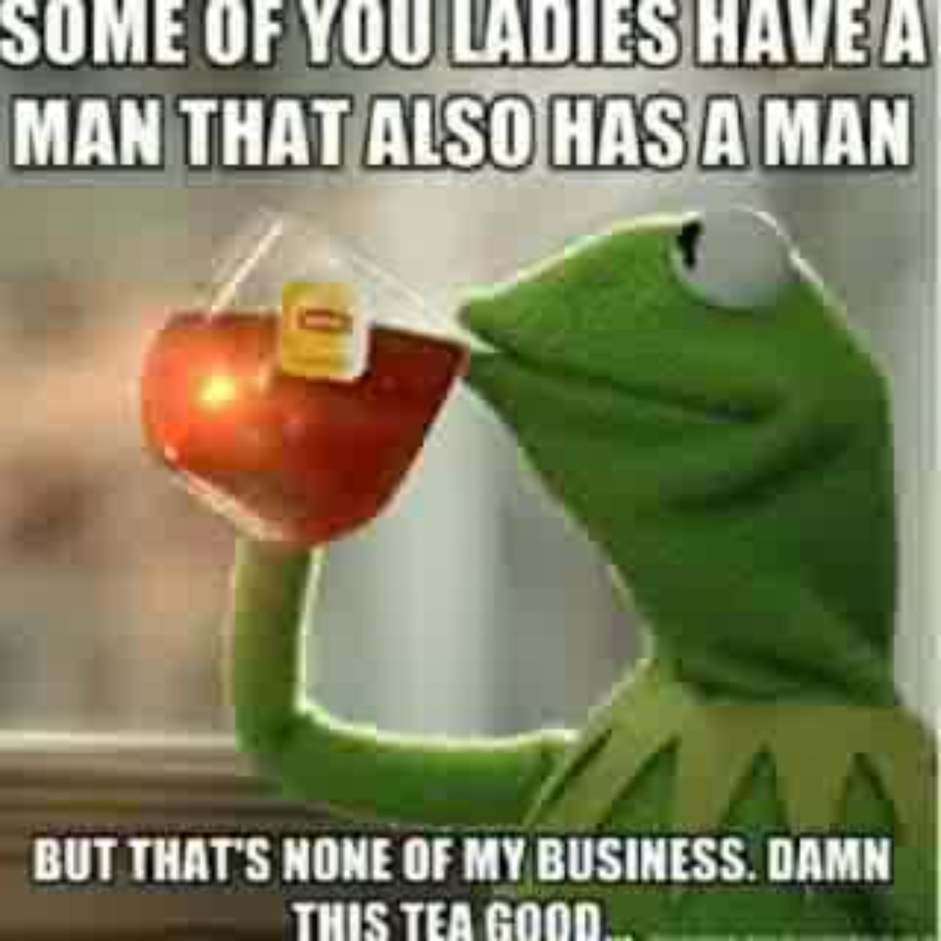Humour Saturday: Kermit The Frog Is Minding His Business