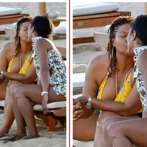 Is She Out? Queen Latifah Photographed Sharing Romantic Vacation With Rumored Girlfriend