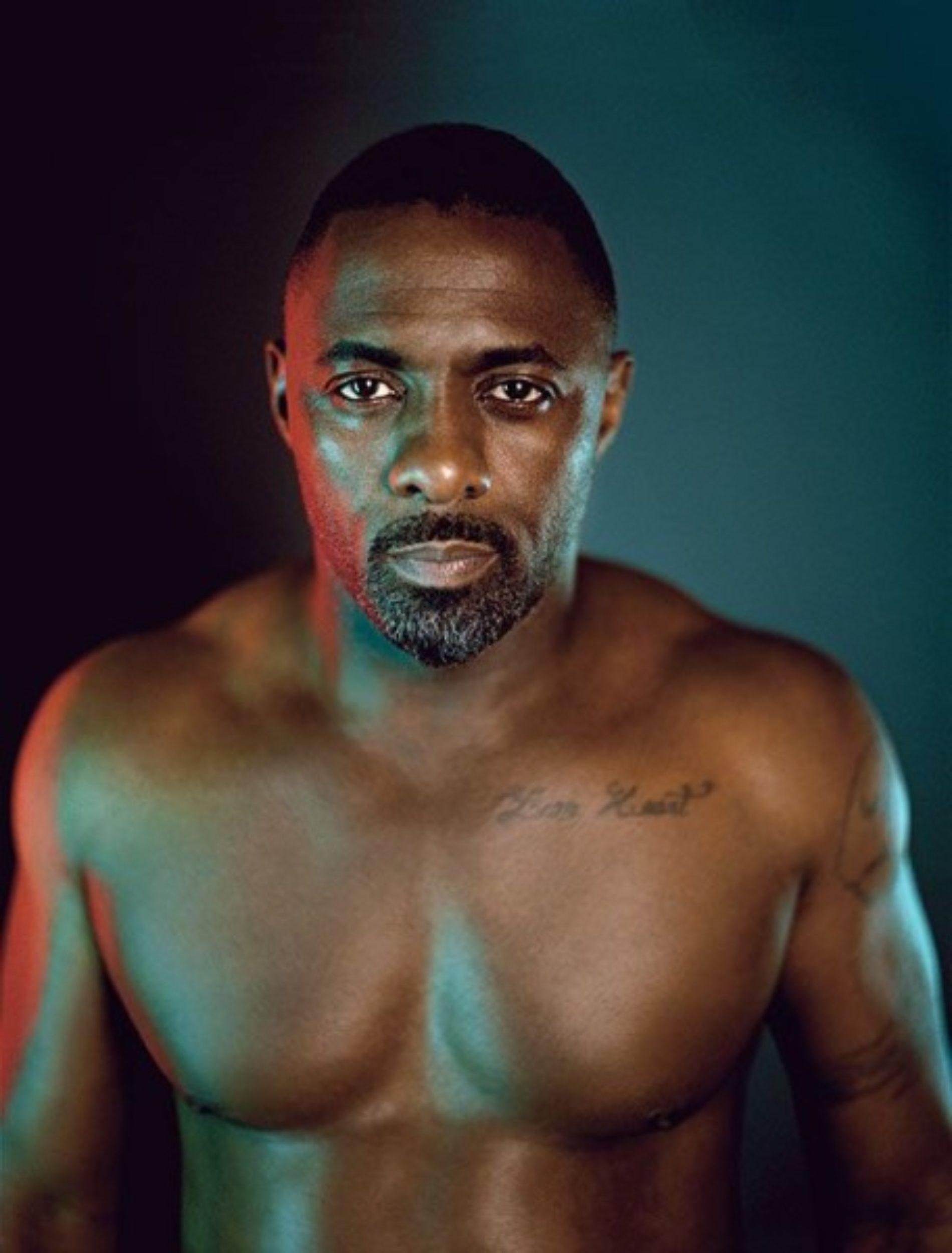 The Sinful Choco-latté That Is Idris Elba