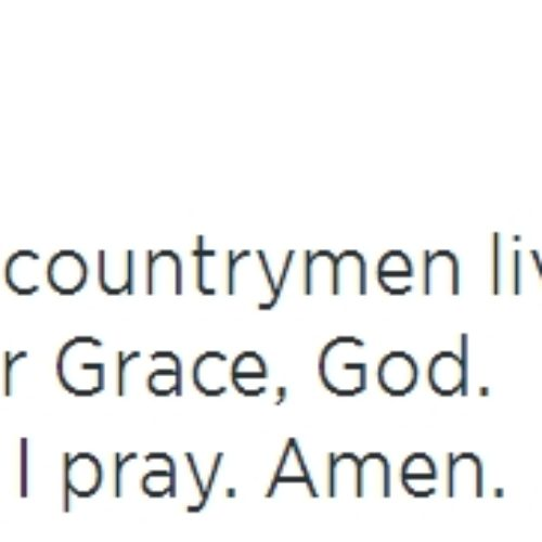 My Prayer For Us All