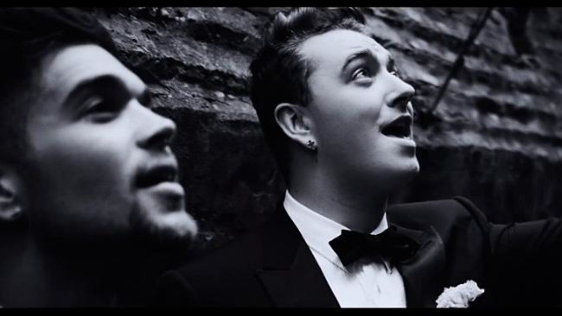 Sam Smith Doesn't Need Grindr When He Can Have His Pick From Music Video Extras Hanging Around