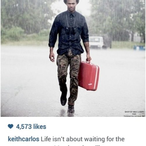 Keith Carlos has a message for you…