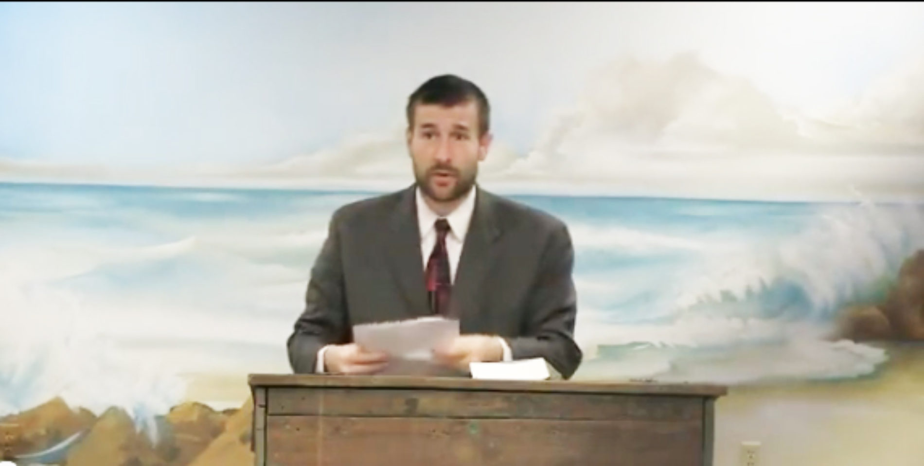 Pastor's 'Biblical' Solution To Homosexuality Is Mass Killings