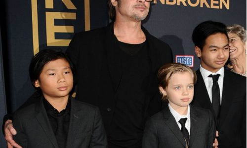 "Angelina Jolie and Brad Pitt Support their daughter's Wish To Be Called ""John"""