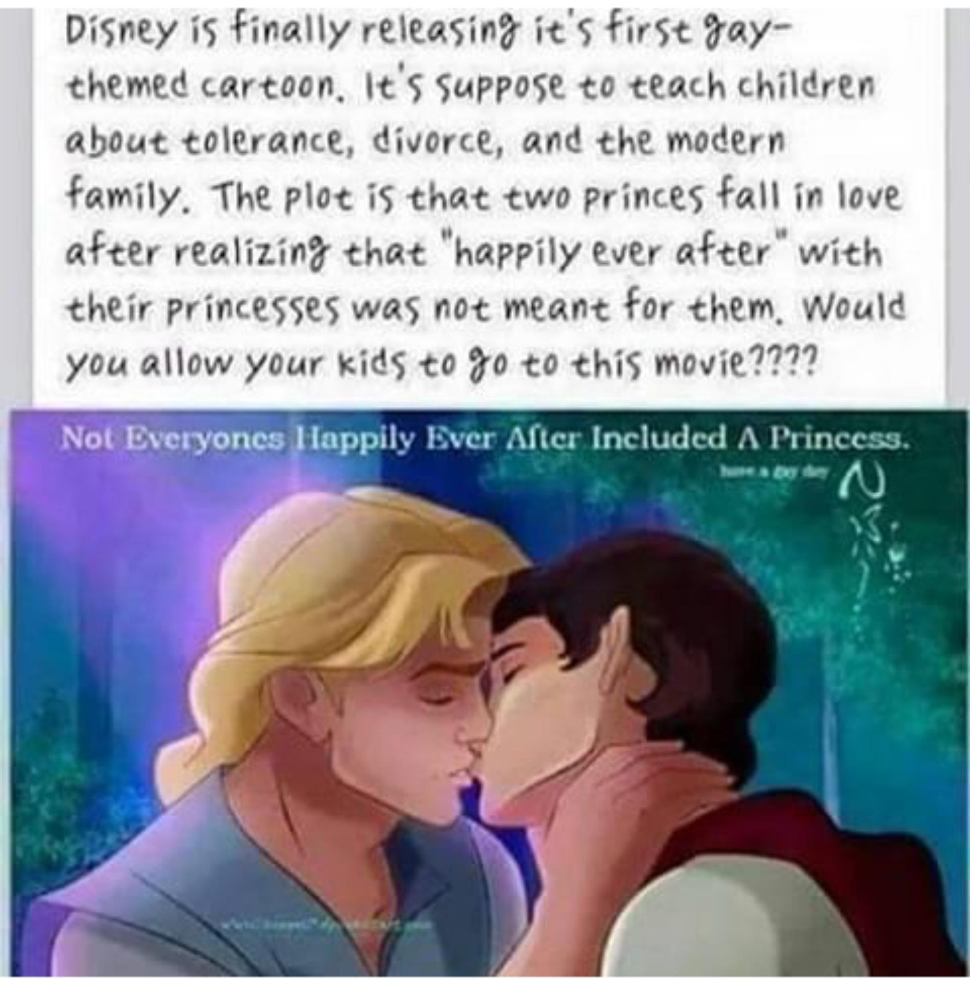 Photo: A Disney Story Without A Princess?