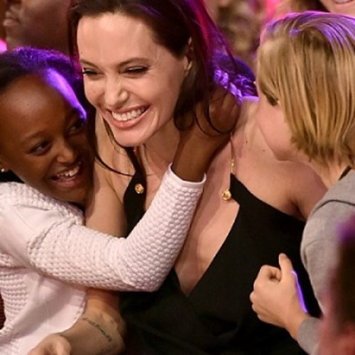 Angelina Jolie Encourages 'Being Different' During Kids Choice Award Speech