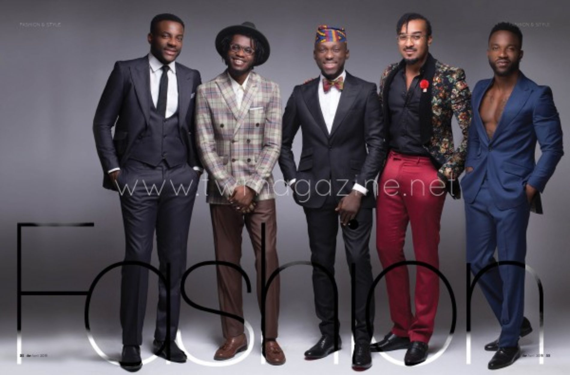 Too Many Hot Men On TW Magazine And Lynxxx Is the Hottest Of Them All