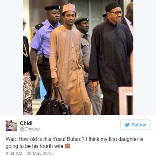 Have You Met The Good-Looking Dude They Say Is Buhari's Son?