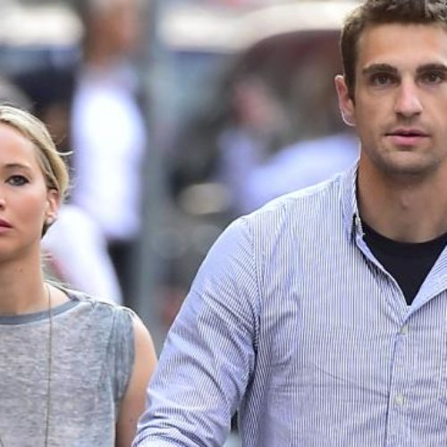 Jennifer Lawrence's Bodyguard Is Unbelievably Hot