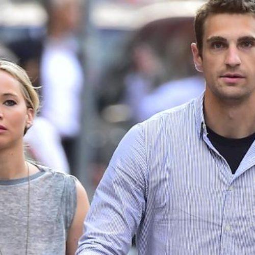 Jennifer Lawrence's Bodyguard Is Unbelievably Hot