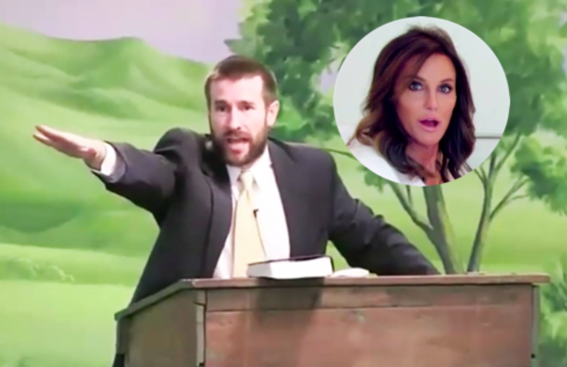 Pastor Prays For Caitlyn Jenner's Heart To Be Ripped From Her Chest