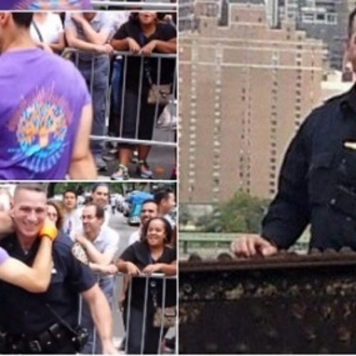 Meet the Hot NYPD Officer Who Got Down And Twerky With Pride Parade Goer