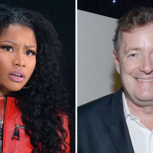 Piers Morgan Draws Blood From Nicki Minaj In Article