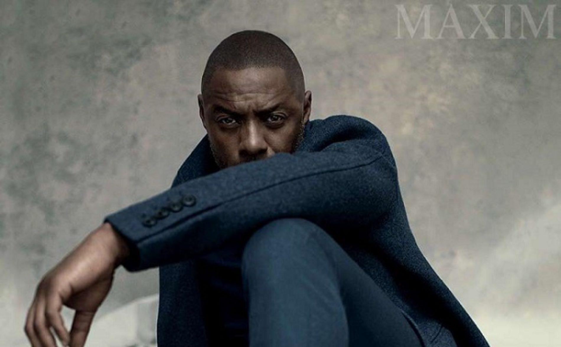 Idris Elba Knows People Follow Him Because They Think He's Very Well-Endowed