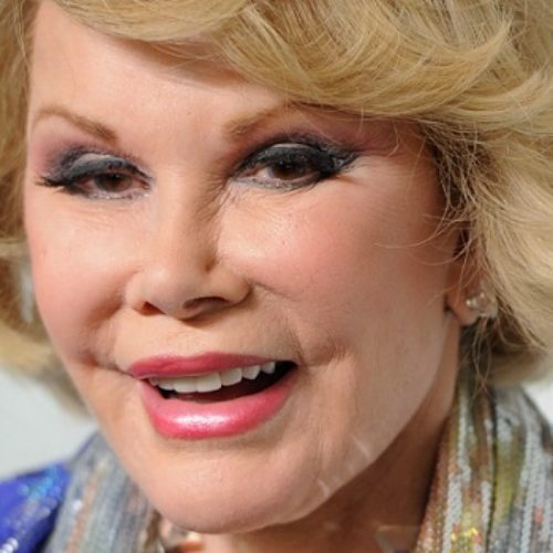 Joan Rivers still telling gay jokes from beyond the grave