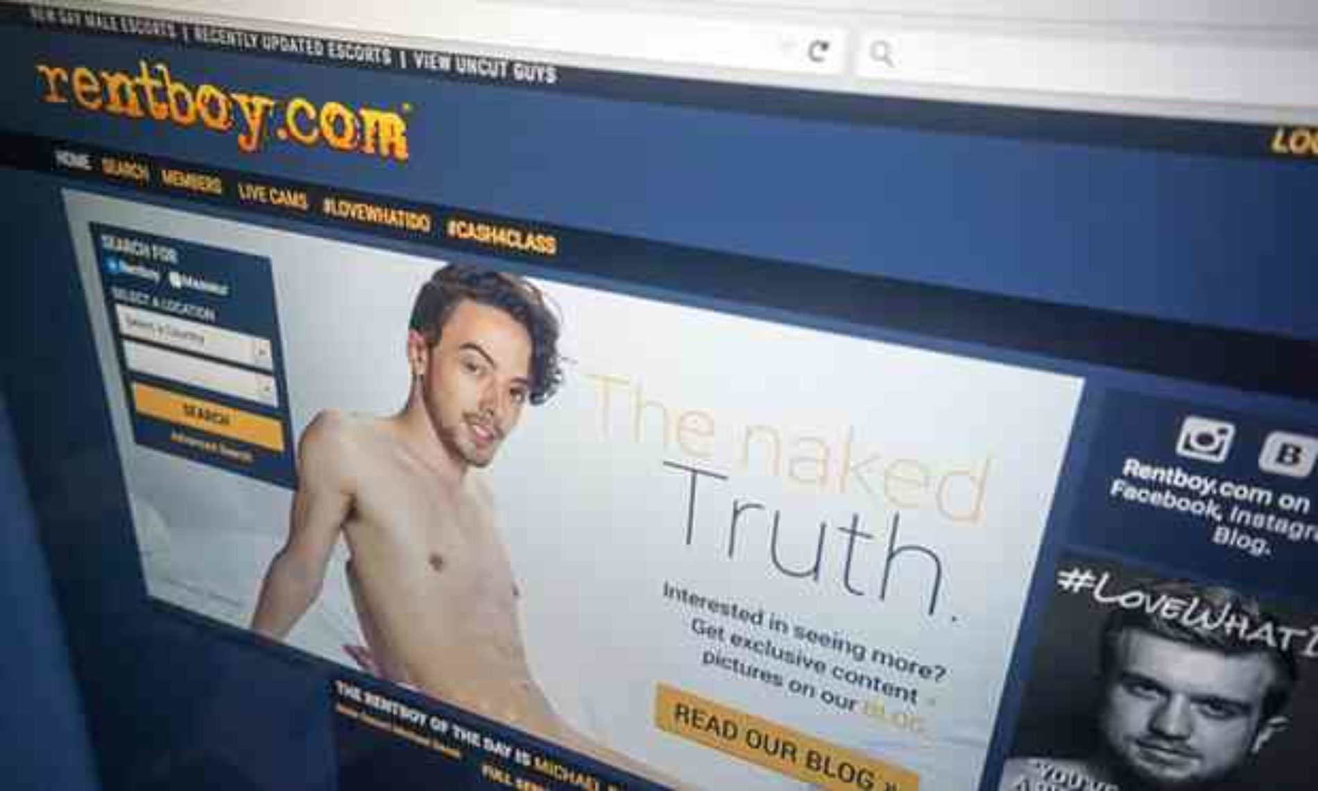 Rentboy.com Is Shut Down In Prostitution Sting, Michael Lucas Speaks Out
