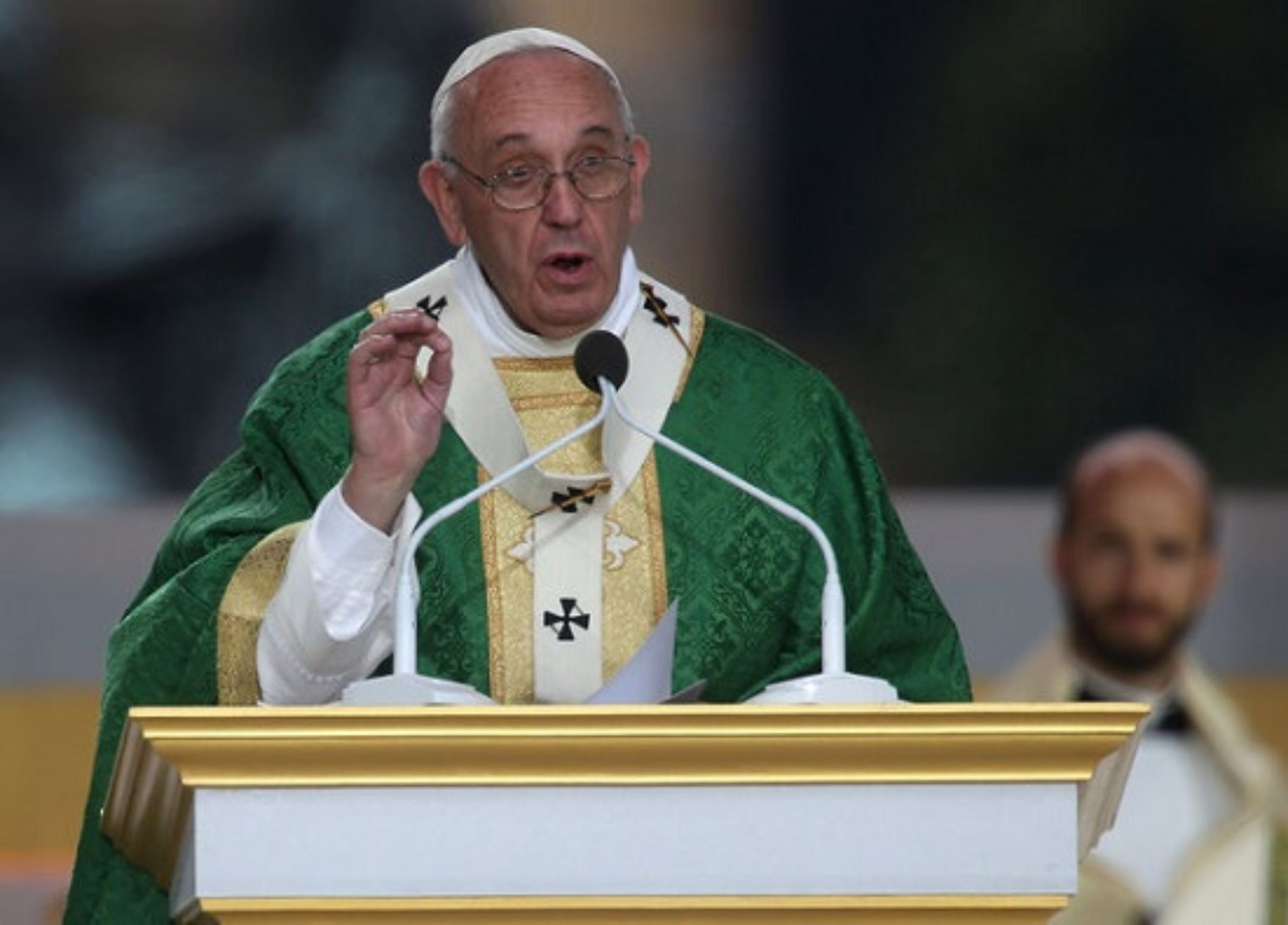 Pope Francis Speaks On Gay Marriage
