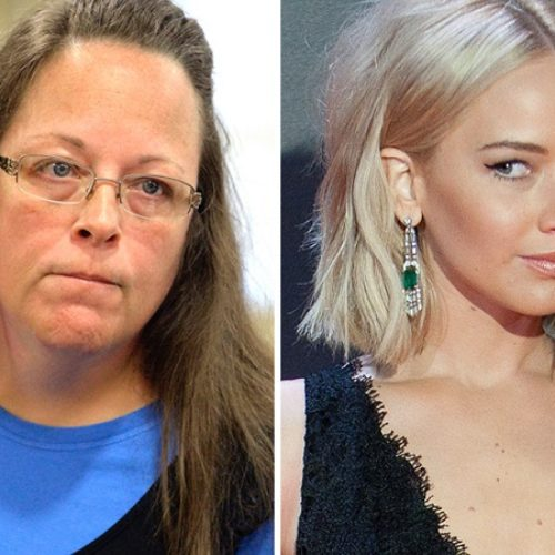 Kim Davis Has Made Jennifer Lawrence Embarrassed To Say She's From Kentucky