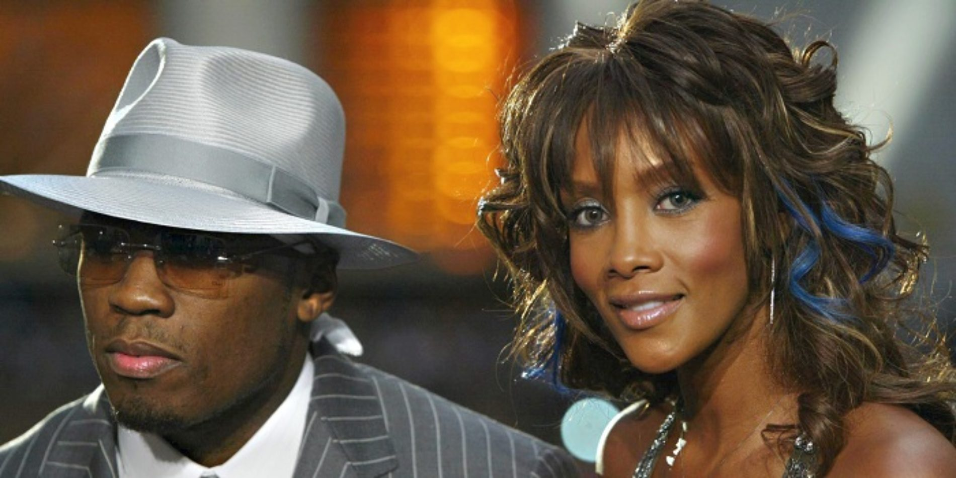 It's War Of The Shades Between Vivica Fox And 50 Cent