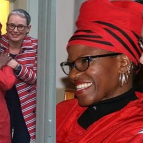 Archbishop Desmond Tutu's daughter weds her lesbian partner…and he was there!