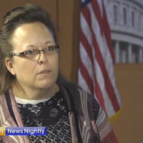 """It's about standing up for God's definition of marriage."" Kim Davis counters Obama's State of the Union Address"