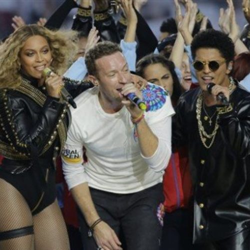 Viewers upset with Beyoncé, Coldplay and Bruno Mars for 'promoting homosexuality' at the Super Bowl