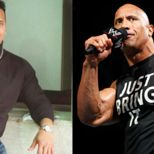 Dwayne 'The Rock' Johnson says he used to look like a buff lesbian