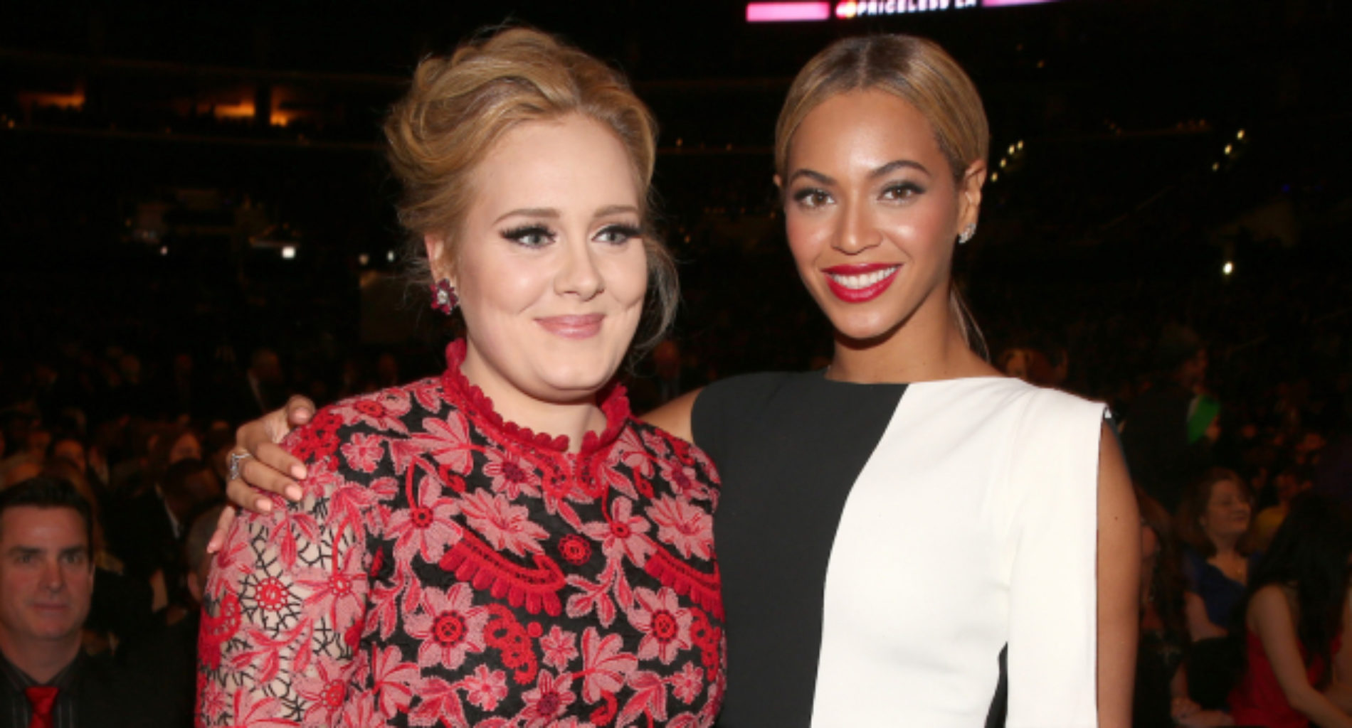 Adele Expresses Her Love For Beyoncé
