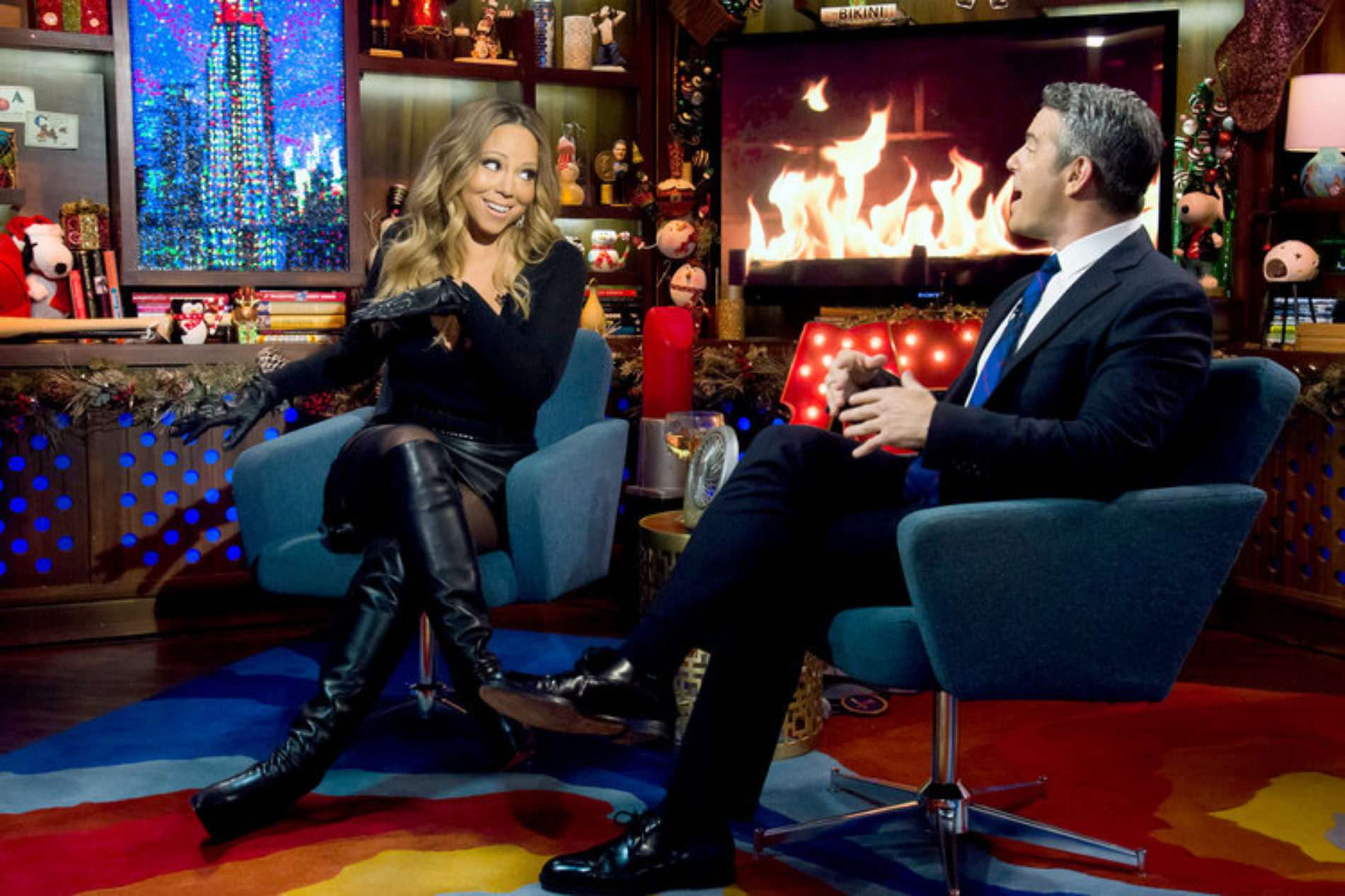 Morning Humour XXVII: Andy Cohen's answer to Mariah Carey's question