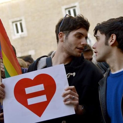 Italy Approves Same-Sex Civil Unions
