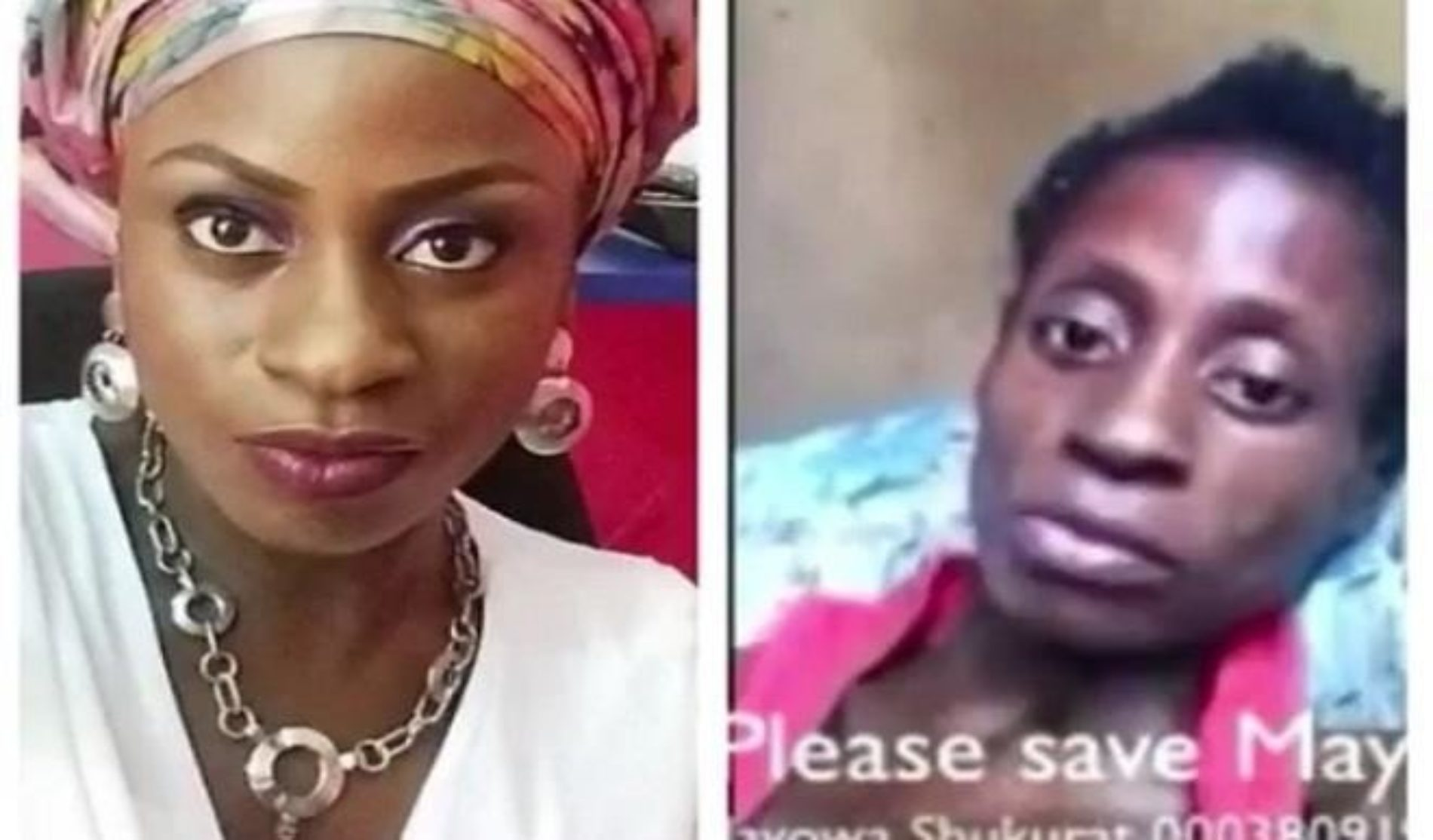 #SaveMayowa is reportedly a scam. She was sick but beyond treatment, and her family stole money from Nigerians