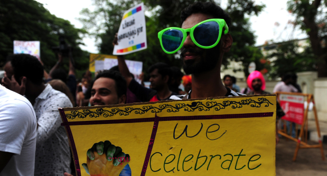 INDIA-PROTEST-GAYS-RIGHTS