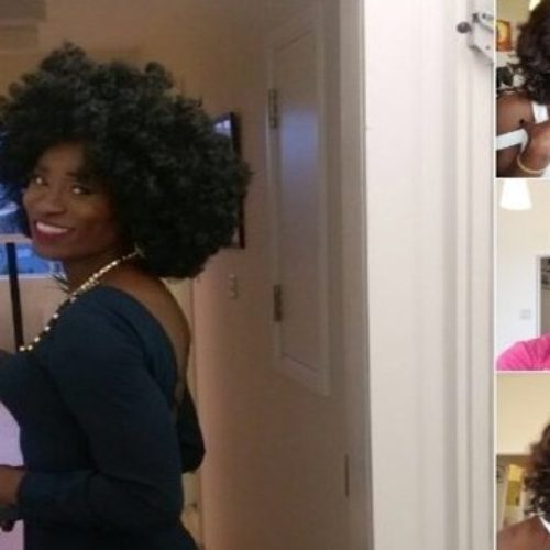 Bisi Alimi Looks Fierce In Drag