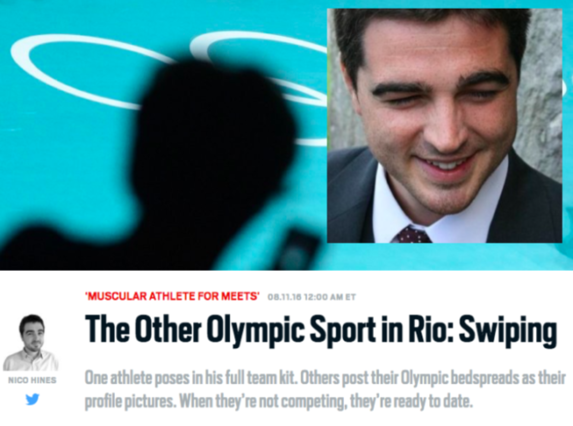 Journalist Who Used Grindr To Out Gay Athletes In Rio Receives Backlash