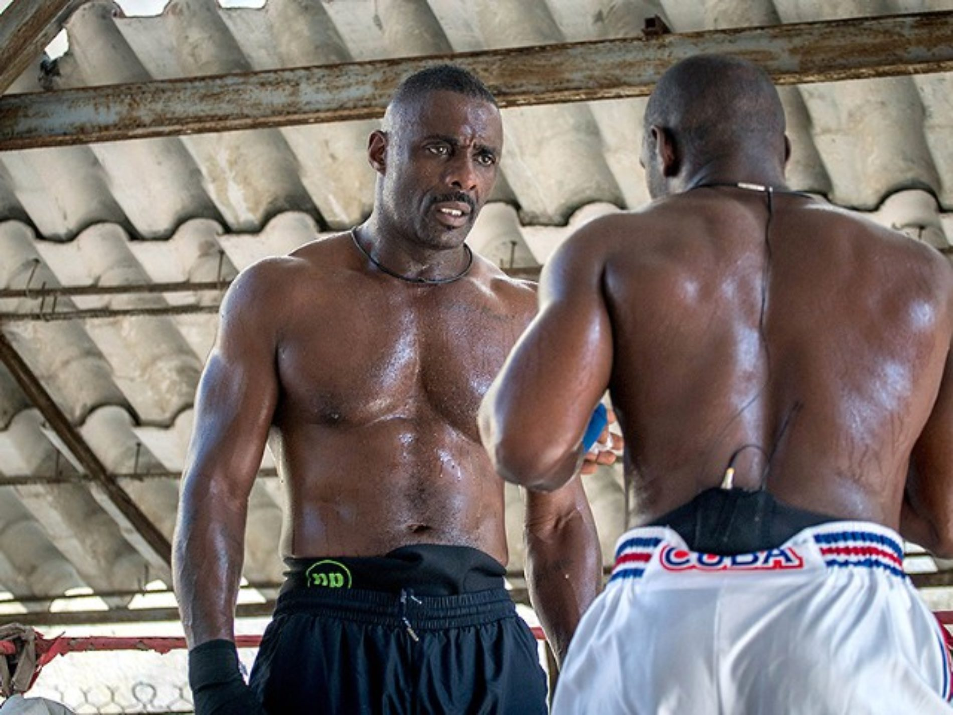 Man Crush Wednesday: A Shirtless and Sweaty Idris Elba