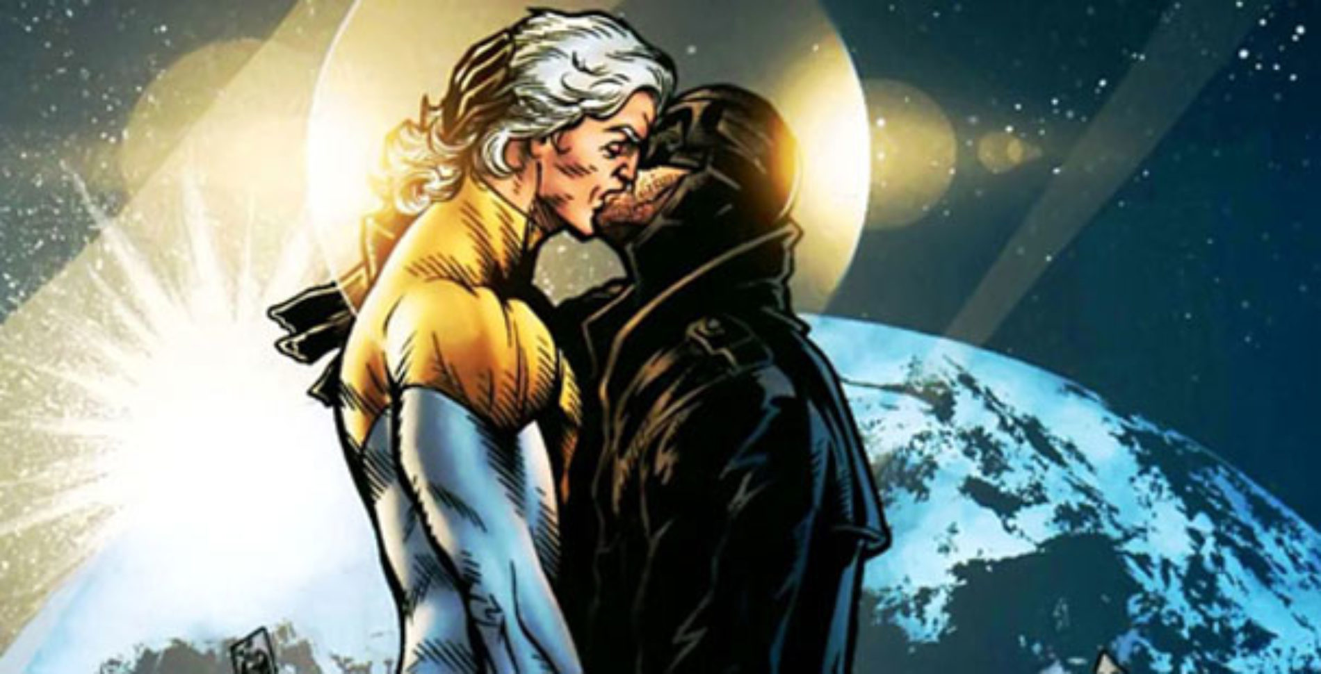 DC Comics features a Superhero Gay Couple