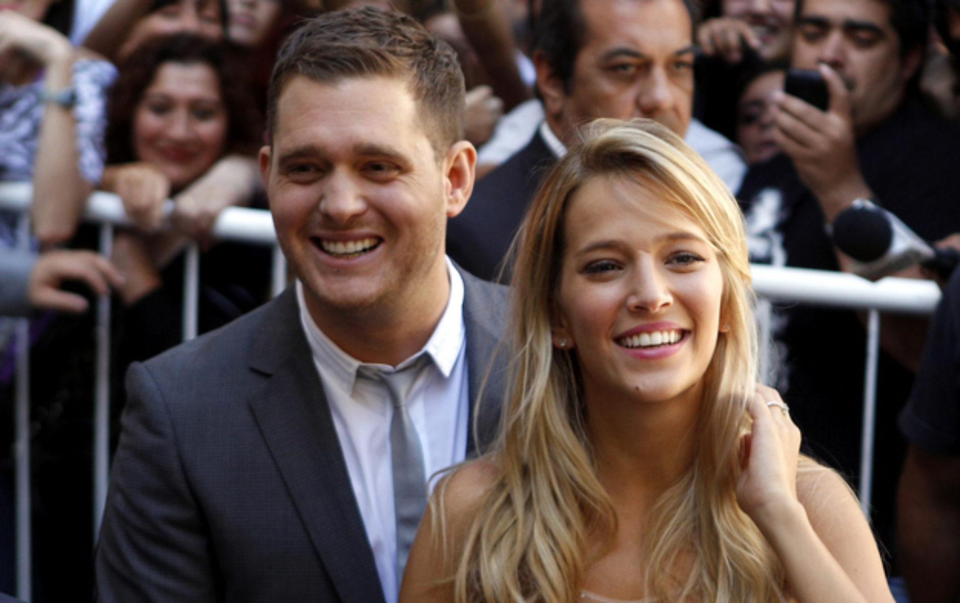 """My Wife Thought I Was Gay When We First Met."" – Michael Bublé"