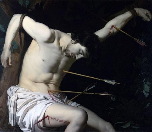 Gerrit van Honthorst's depiction of Saint Sebastian