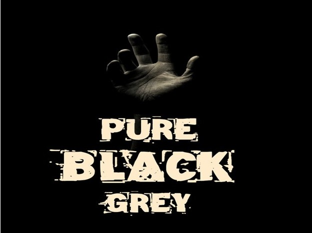 Pure Black Grey 2