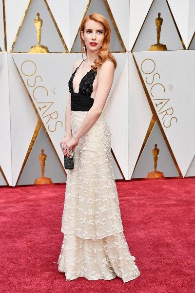 oscars emma-roberts-oscars-2017-red-carpet-in-hollywood-4