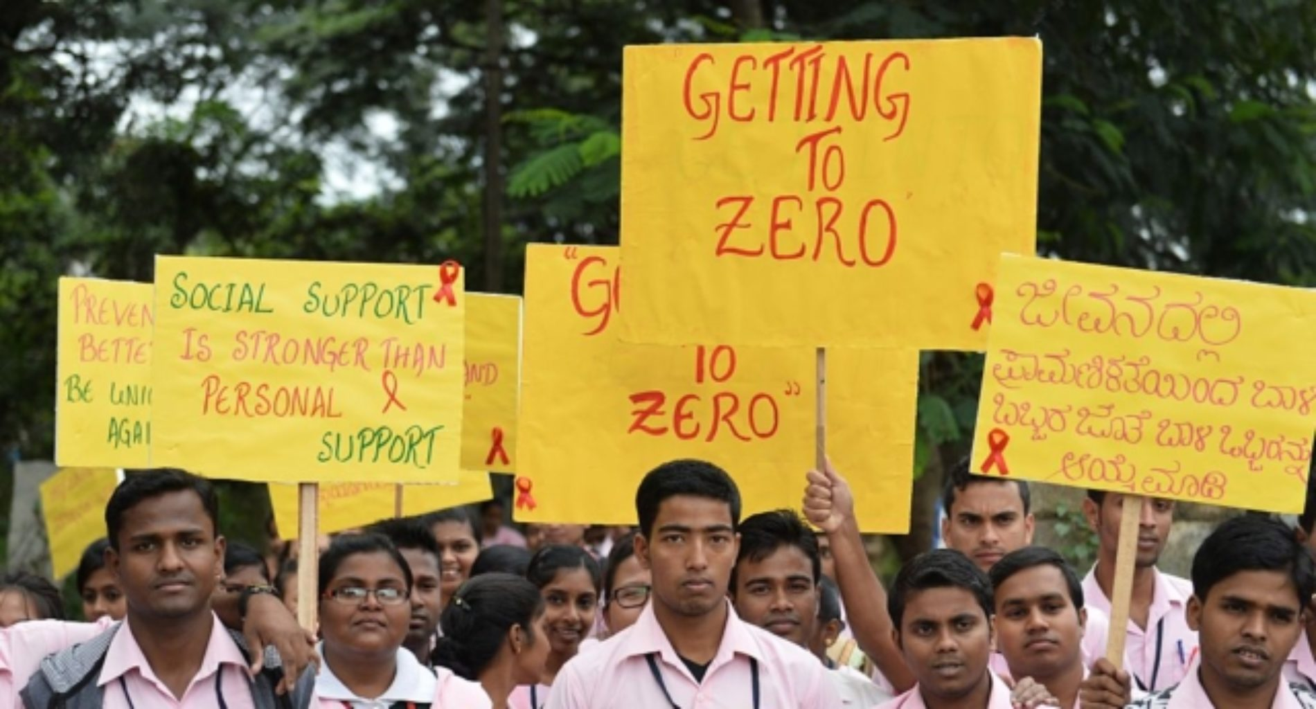 India passes 'historic' equality law for people with HIV/AIDS