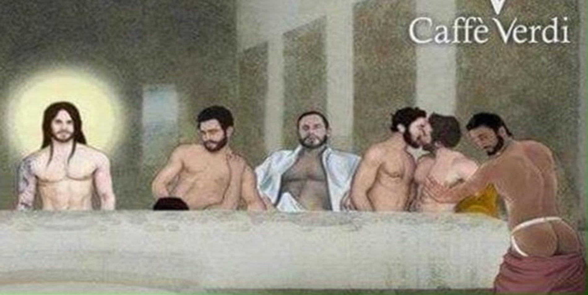 Creators of a sexual version of Da Vinci's The Last Supper come under fire