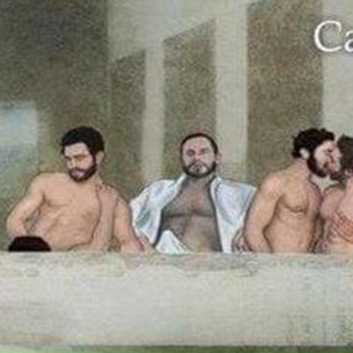 Creators of a sexual version of Da Vinci's The Last Supper come under fire