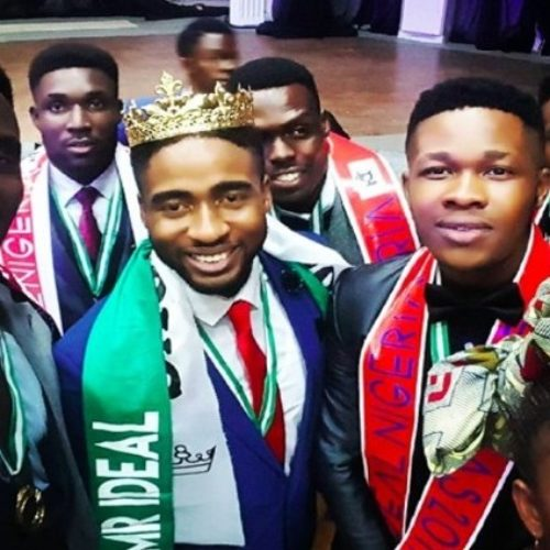 Mr Imo, Steve Onyeneke, wins Mr Ideal Nigeria 2017