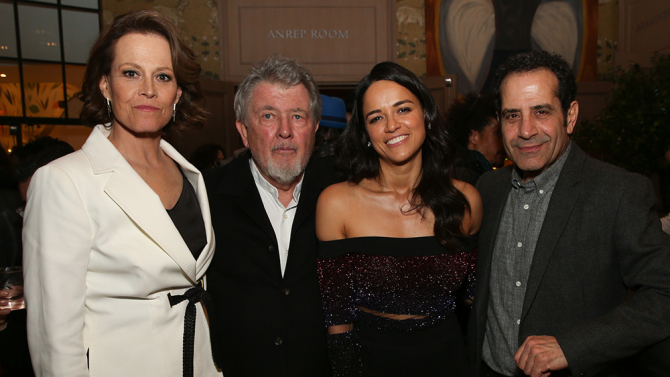 'The Assignment' film screening, After Party, New York, USA - 03 Apr 2017
