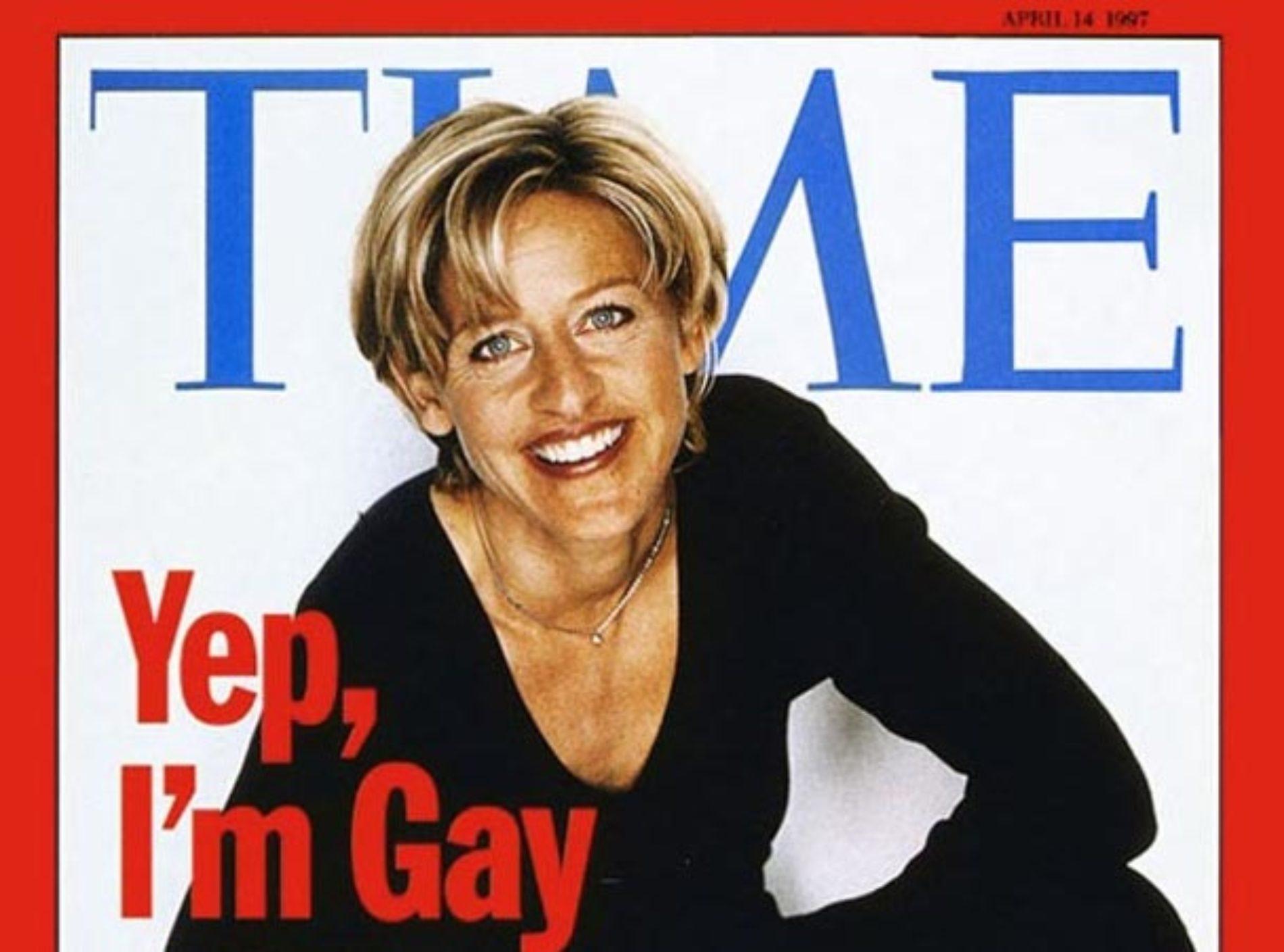 """Yep, I'm Gay."" Read the ""shocking"" interview Ellen DeGeneres gave 20 years ago"