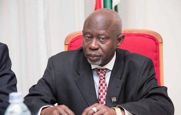 Ousainou Darboe, Gambia's Foreign Secretary