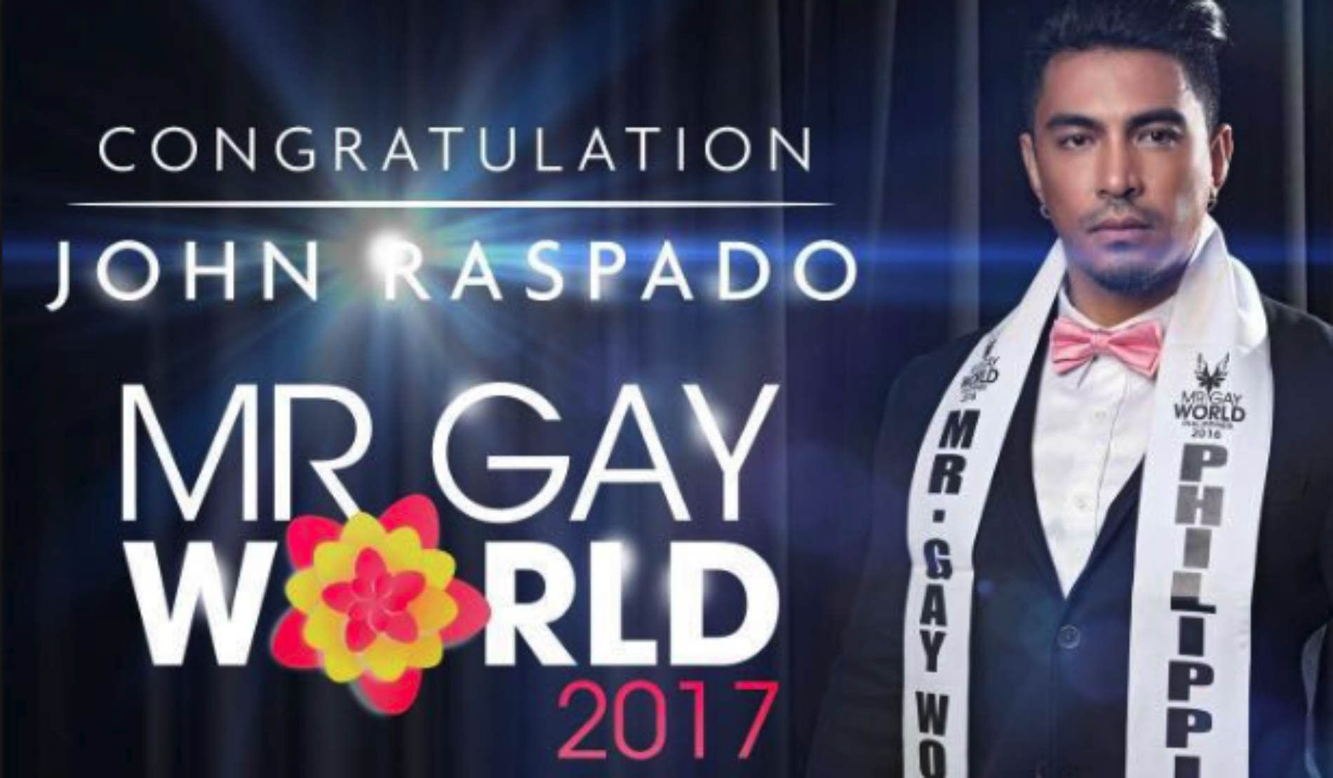 Mr Gay World 2017 Is Crowned