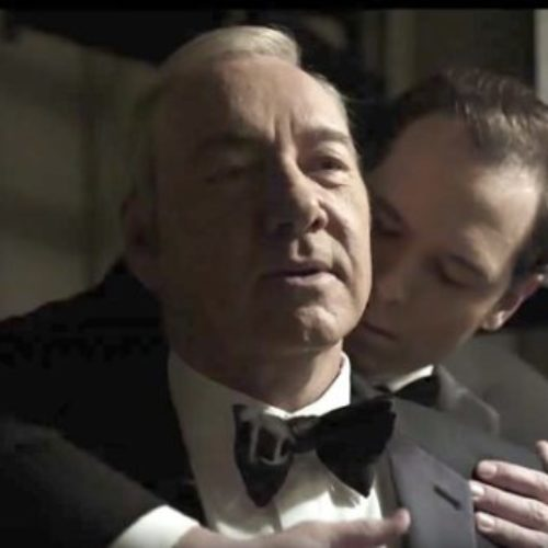 "Disgruntled Netflix viewer expresses irritation at the whole ""gay thing"" in 'House of Cards' and gets schooled"